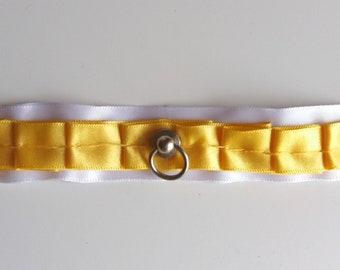 Sunshine gold choker collar