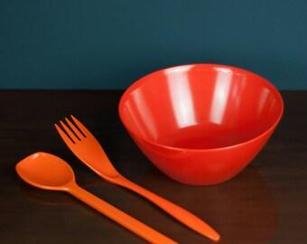 Vintage Malaware Salad Bowl