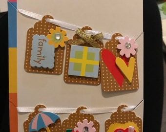 Family Themed Craft Tags