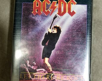 AC/DC - Let There Be Rock - The Movie 1980 - Original Clam Shell VHS - Bon Scott Era