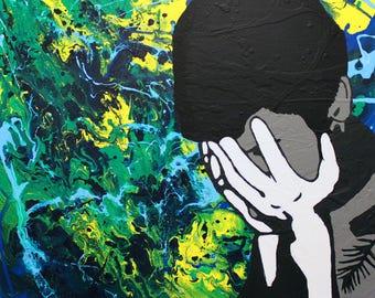 Sad Brian - Fine Art Print