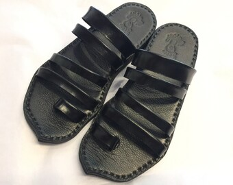 Leather Sandals for men and women~simple leather sandals~