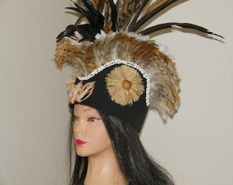 TAHITIAN Headdress for Otea or Aparima-SALE!!