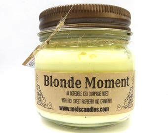 Blonde Moment Whipped Body Frosting 8 ounce Country Glass Jar - This is Incredible