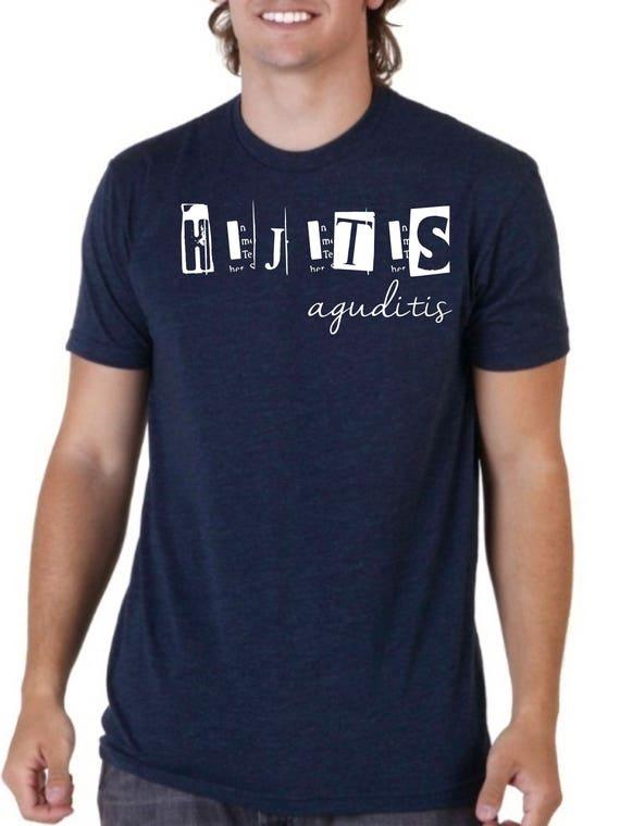 Round neck men short sleeve t-shirt PAPITIS AGUDITIS