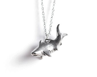 Shark Necklace - Le Unsinkable Shark Totem - Shark Week