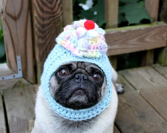 Dog Hat - Sweet Yummy Cupcake Hat/Made To Order