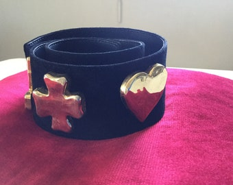 Belt from Christian Lacroix vintage cross
