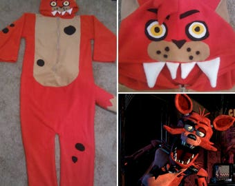 Make ayour Own FOXY Inspired Kigurumi Onesie from Five Nights at Freddys