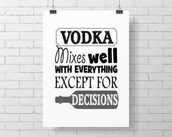 Printable Bar Room Art Print, Bar Wall Decor, Tavern Art, Printable Quote,
