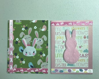 2-pack Easter Bunny Cards