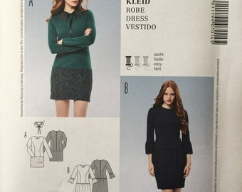 Burda Sewing Pattern 7014 Ladies Misses Dress Size 6-16 Uncut Young look