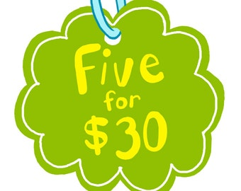 SALE Combo Deal: Five Air Fresheners for 30