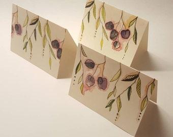 Spring Garden Motif Card Set