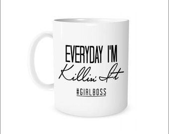 Girl Boss, Gift for Boss , Boss Gift, Boss Babe, Girl Boss Mug, Boss Babe Cup, Boss's Day Gift, Office Gift, Christmas Gift Idea, Coffee Mug