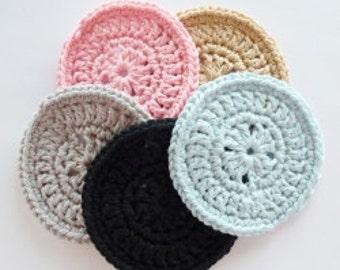 Crochet Coasters, Crochet Doily