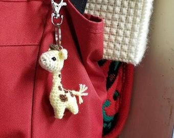 Key chain Giraffe, Crochet Giraffe, Amigurumi Giraffe, Crochet Key chain