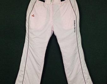 pantalon coq sportif femme argent