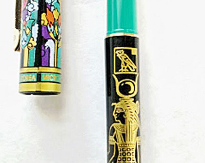 New! Hathor Ancient Egyptian Goddess Rollerball Pen! Beautiful Lotus flowers, unique Egyptian design. Perfect, practical gift!