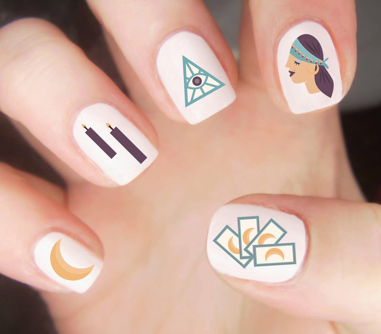 Unique Browning Symbol On Nails Motif - Nail Art Ideas - morihati.com