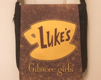 Gilmore Girls Luke's Inspired Messenger Bag / Purse