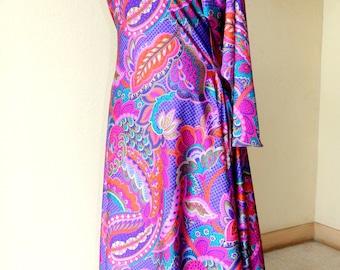 Large Paisley dress