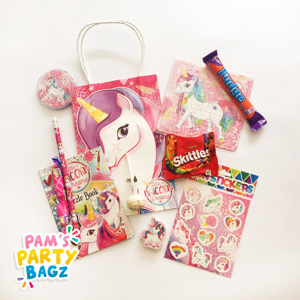 Pre-filled Unicorn Party Bag