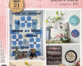 SALE!!! Simply Vintage Magazine by Quiltmania - Spring 2018