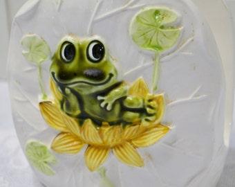 Vintage Neil the Frog Napkin Holder Sears Roebuck Kitsch Retro Kitchen PanchosPorch