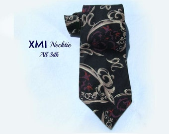 vintage necktie,wide tie, designer tie,suit necktie, office tie,gift for him, # T 22