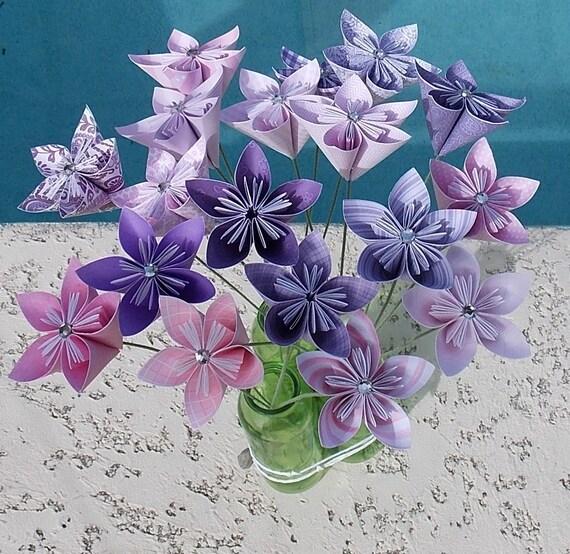 kusudama paper flower - Roho.4senses.co