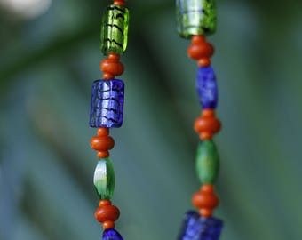 University of Florida Beaded Necklace