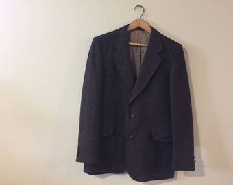 Mens 'Timothy E' Pure Virgin Wool Jacket - Made in Canada
