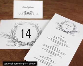 Christine Menu, Table Marker & Place Card Set