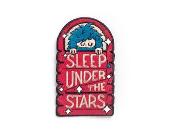 Bigfoot Sleep Under the Stars Patch