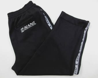 Karl Kani Pants Size XL 35-45x27 Vintage Karl Kani Track Pants 90s Karl Kani Vintage Hip Hop Oversized Activewear