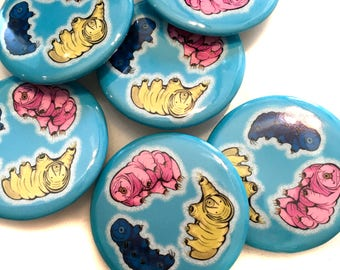 Tardigrades Pin Back Button