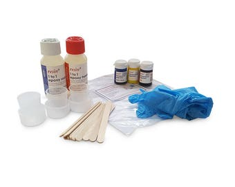 RESIN8 1 to 1 Epoxy Resin - Primary Colour Kit