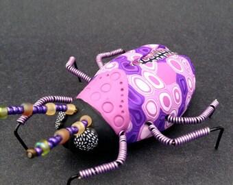 Insect Art Insect Sculpture Bug Sculpture Beetle Sculpture Insect Ornament (BTL-0010)