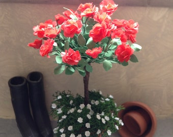 Rose tree in 1/12 for the doll house