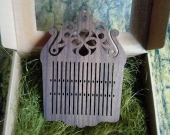 Folk rigid heddle tape loom