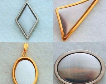 Any 30 Pendant and Pin Settings Frames Special