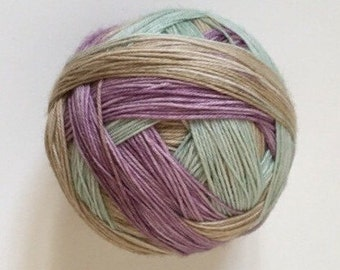 To order sock yarn: 'Be my baby'  (3 colours, self striping)