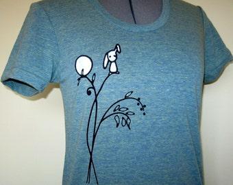 Bunny Tree Shirt Women sizes Small through XLarge