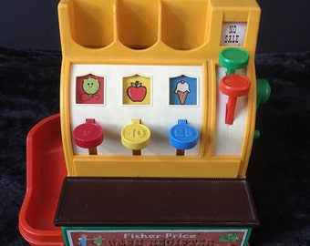 Cash register vitange Fisher Price brand