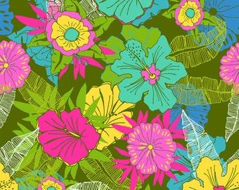 Hawaiian - Molokai Lush Green Floral