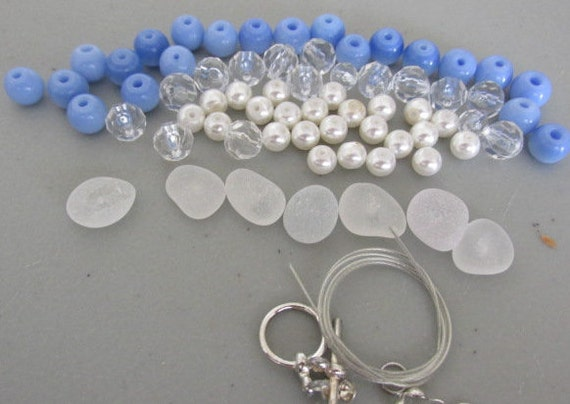 Do it yourself bracelet kit sea glass jewelry beach glass diy solutioingenieria Gallery