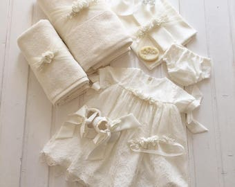cod Anastasia Dress, Christening outfit, grown dress, girl dress, baby christening dress, lace dress
