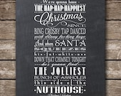 Items similar to Christmas Vacation Quote - Clark Griswold ...