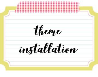 WordPressTheme Installation, Installation service for WordPress Theme